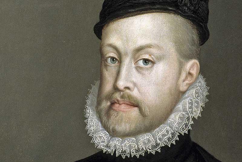 Juramento às Cortes de Tomar do Duque de Bragança (1581). Grada 125. A fronteira