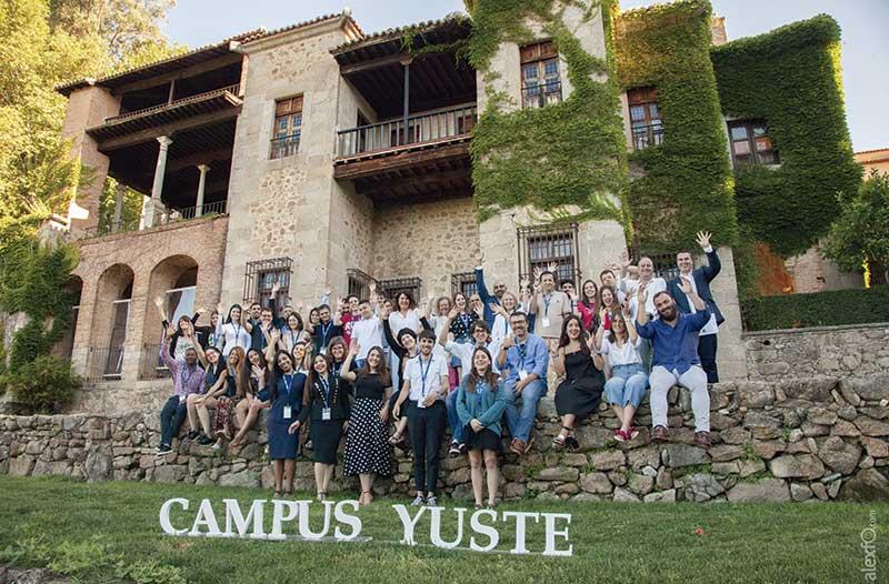 El programa formativo Campus Yuste integra conocimiento e intercambio intergeneracional. Grada 125
