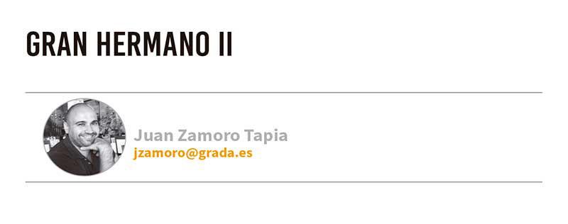 Gran Hermano II. Grada 125. Juan Zamoro