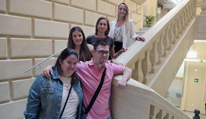 La Diputación de Badajoz promueve la inserción laboral de personas con síndrome de Down