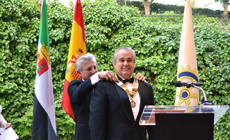 El Club Rotary Cáceres elige como nuevo presidente a Ignacio Ferrer Cazorla