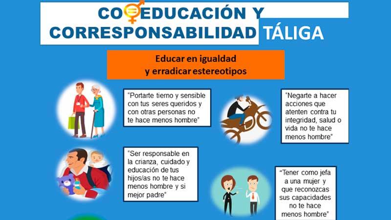 El Ayuntamiento de Táliga desarrolla el proyecto 'Coeducación y corresponsabilidad'