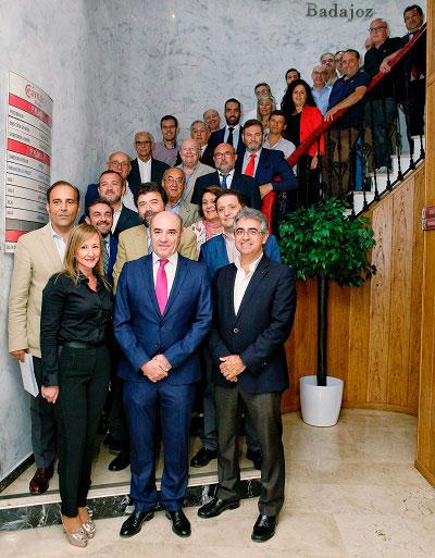 Junta directiva Cámara de Comercio de Badajoz