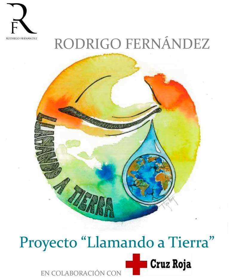 Rodrigo Fernández y Cruz Roja desarrollan el proyecto musical solidario 'Llamando a Tierra'