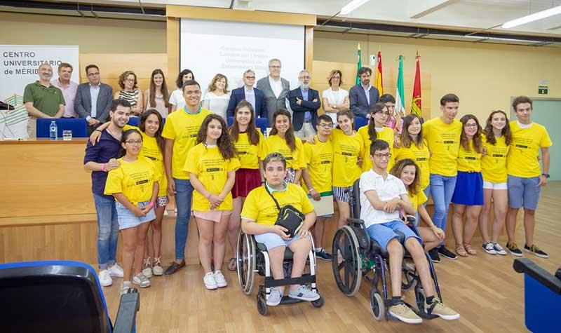 Jóvenes con discapacidad conocen la Universidad gracias a 'Campus inclusivos, campus sin límites'