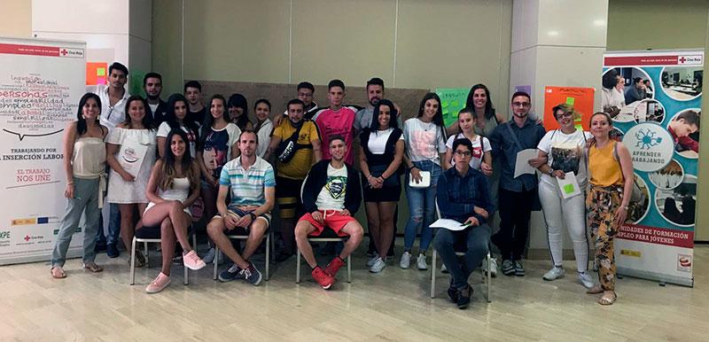 Cruz Roja promociona la inserción laboral con su programa de empleo juvenil