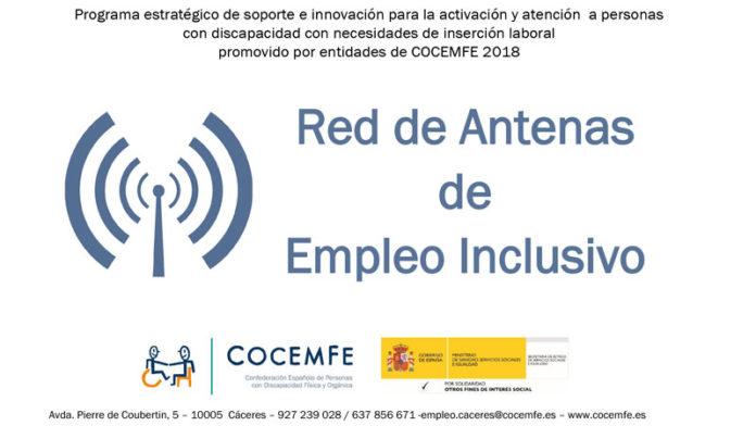 Antenas de empleo inclusivo Cocemfe