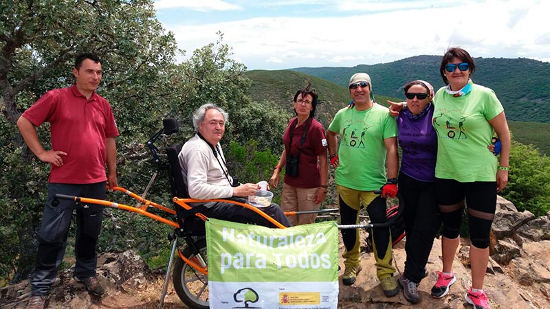 El proyecto 'Naturaleza para todos' hace accesibles los Parques Nacionales