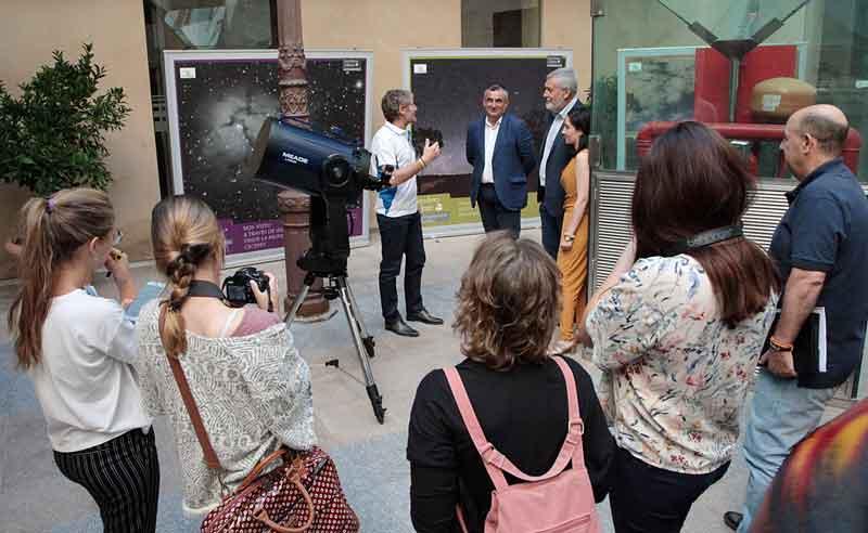 La Diputación de Badajoz promociona la Astronomía con el programa 'Bajo un manto de estrellas'