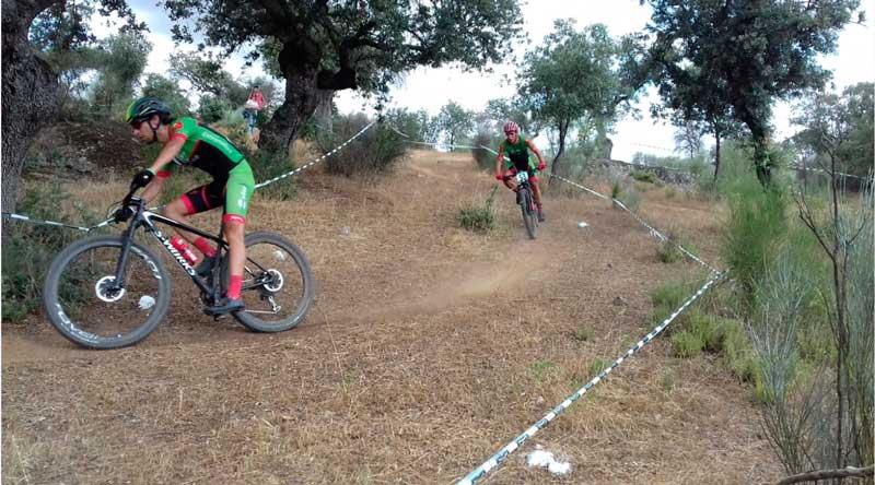 Pedro Romero y Manu Cordero Campeones de Extremadura XCO (Rally)