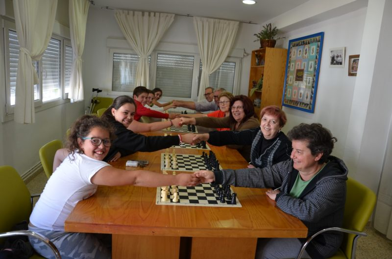 Finaliza el 'Mes del ajedrez intergeneracional' del Club Magic Extremadura