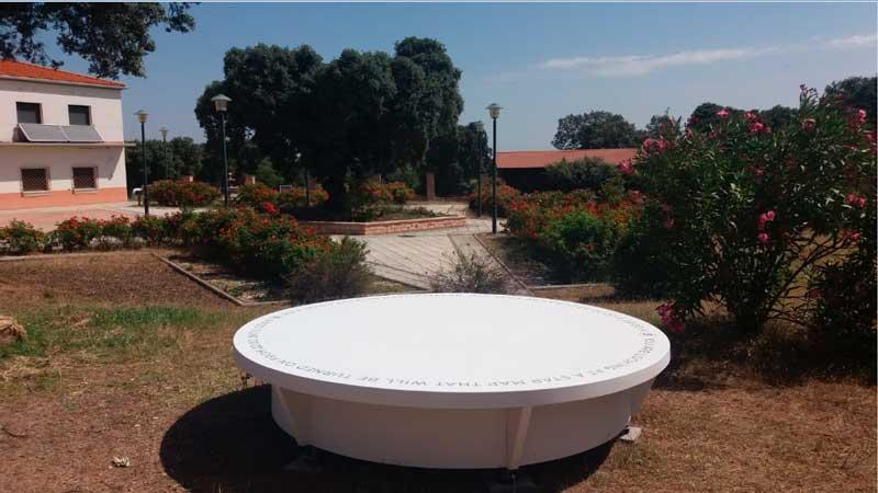 La Diputación de Badajoz instala en La Cocosa un mirador para la observación del cielo nocturno