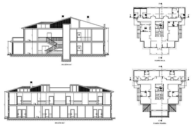 La Diputación de Cáceres continúa la construcción de la residencia de mayores en Abertura