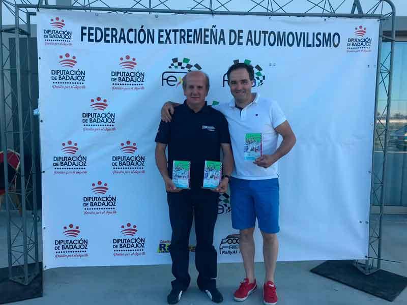 La dupla formada por Reales y Barriga se adjudica el VI Criterium Volantia Racing Club