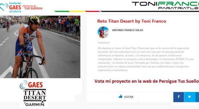 Titan Desert Toni Franco Fundacion Gaes