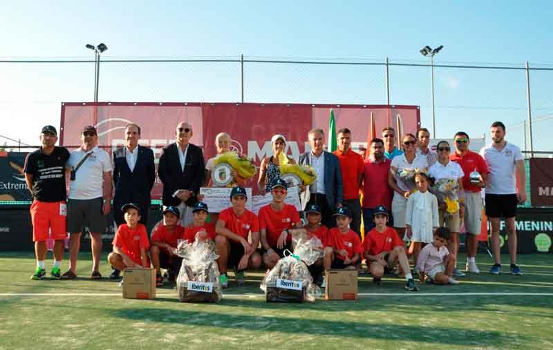 María José Luque gana el III Torneo internacional de tenis 'Ciudad de Don Benito'