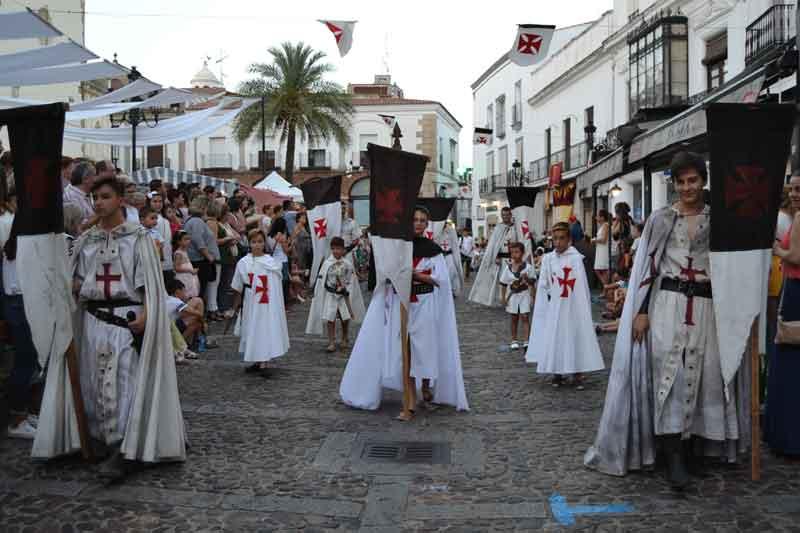 Comienza El Xv Festival Templario De Jerez De Los Caballeros Revista Grada