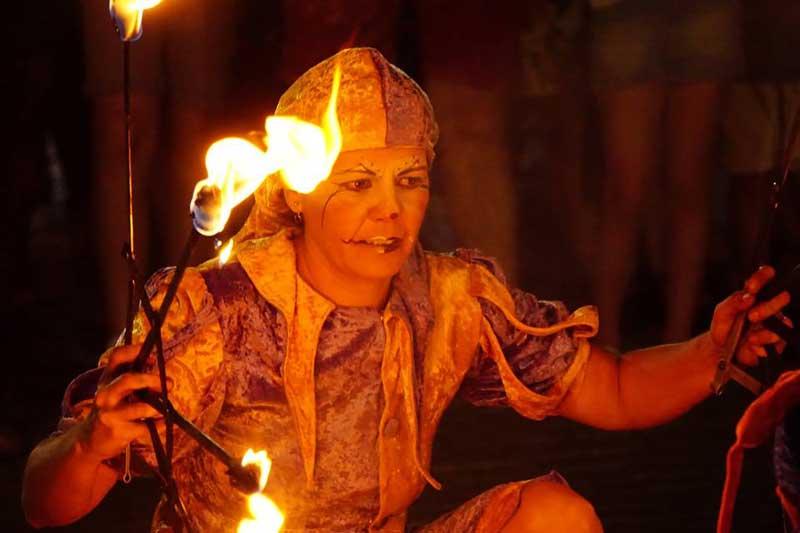 Finaliza con éxito la fiesta 'De la Luna al fuego' de Zafra