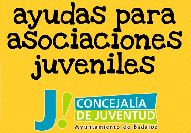 Continúa abierta la convocatoria de subvenciones para asociaciones juveniles de Badajoz