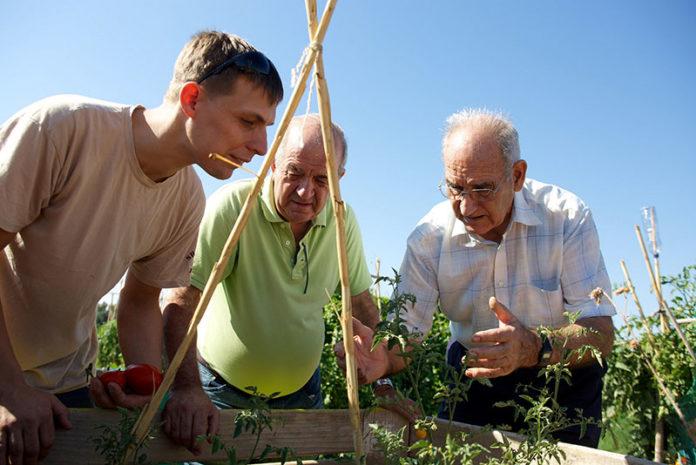 Voluntariado de personas mayores con La Caixa