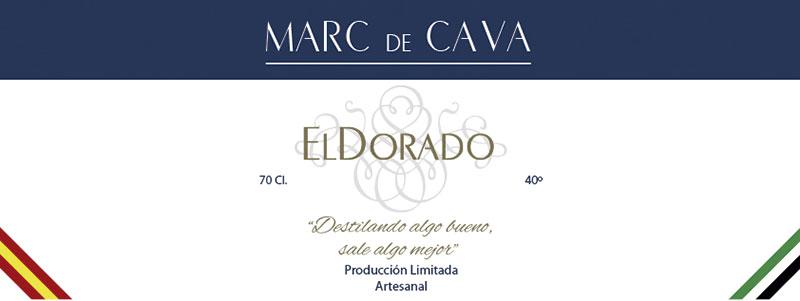 Marc de cava 'El Dorado'. Grada 126. Enología