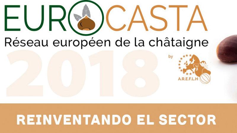'Eurocasta 2018' aborda el sector de la castaña. Grada 126. Fundecyt-Pctex