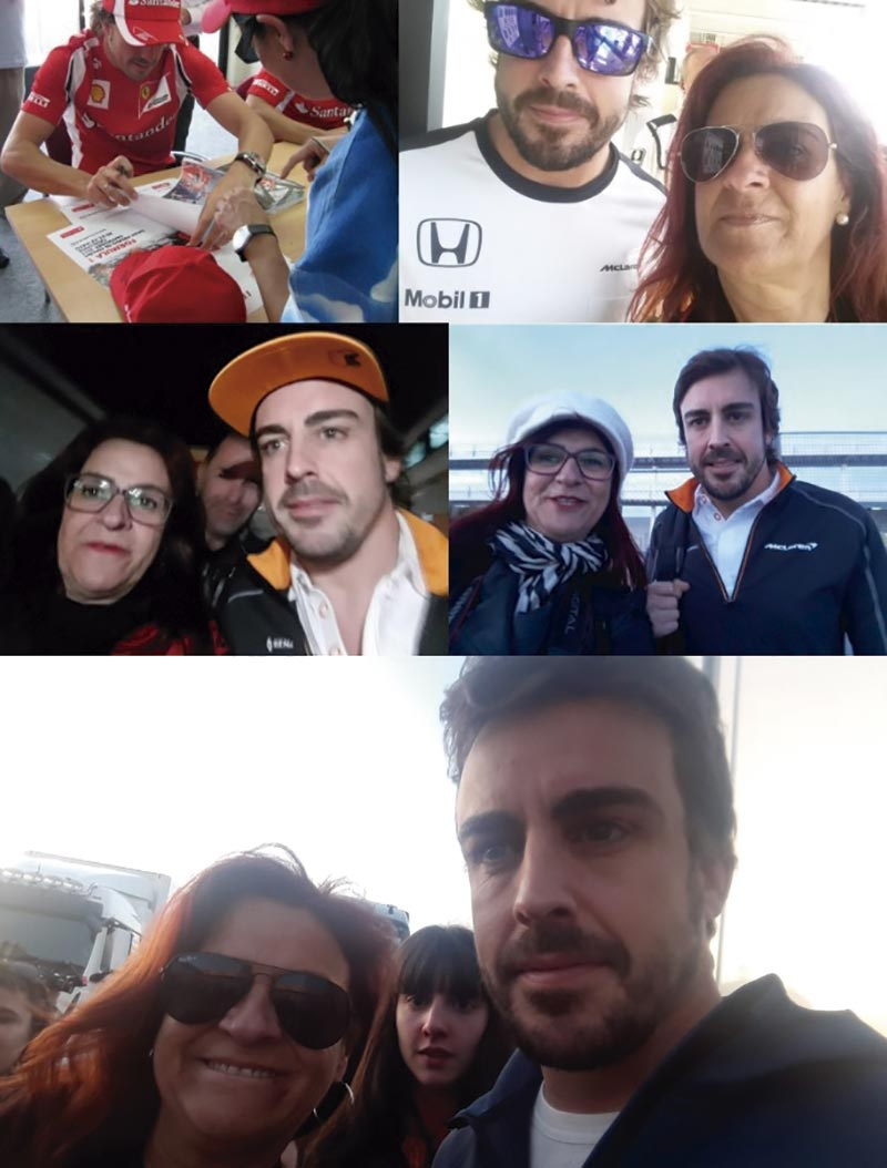 Hasta pronto, Fernando Alonso. Grada 126. Motor