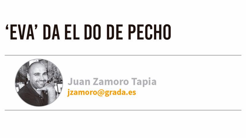 'Eva' da el do de pecho. Grada 126. Juan Zamoro