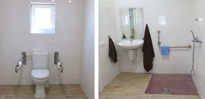 Fundación CB concluye las obras para hacer completamente accesible una de las habitaciones de la Rucab