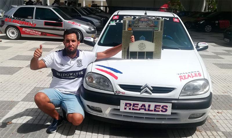 Francisco Reales gana el Slalom Hernán Cortés celebrado en un circuito urbano por las calles del pueblo