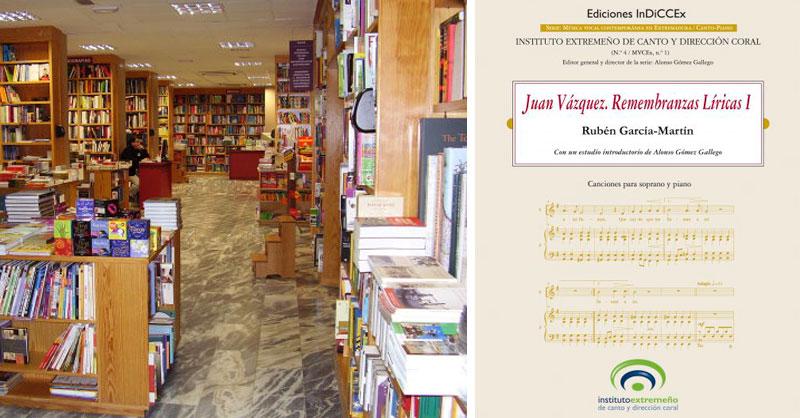 Las publicaciones del Instituto extremeño de canto y dirección coral se venderán en la librería Universitas de Badajoz