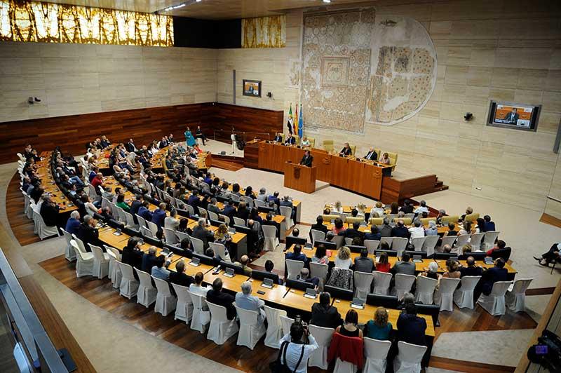 Día de Extremadura en la Asamblea
