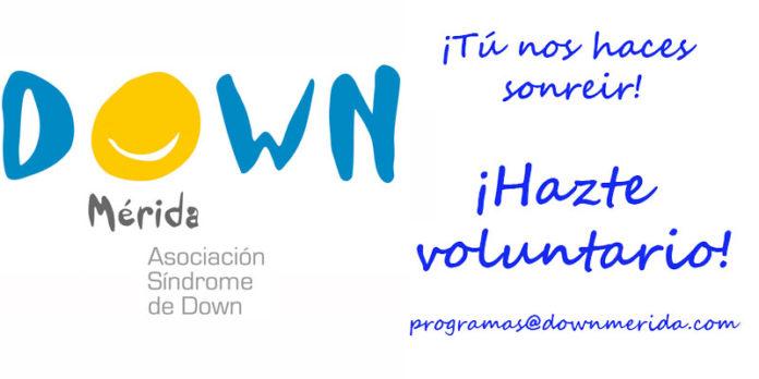 Talleres y voluntariado de Down Mérida