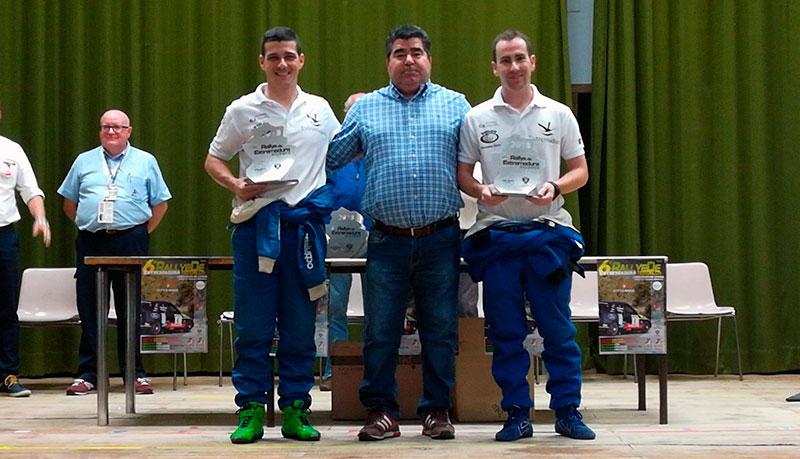Manuel Muniente y Borja Rozada se alzan con la victoria en el VI Rallye de Extremadura Histórico