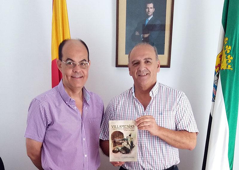 José Antonio Ramos Rubio presenta el libro 'Villamesías y su entorno arqueológico. El paso del tiempo'