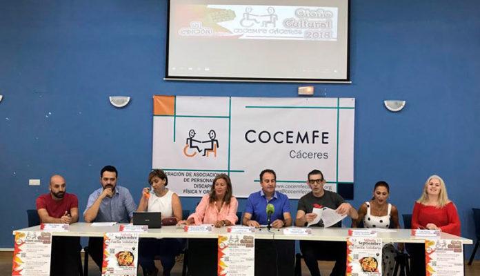 'Otoño cultural' de Cocemfe Cáceres