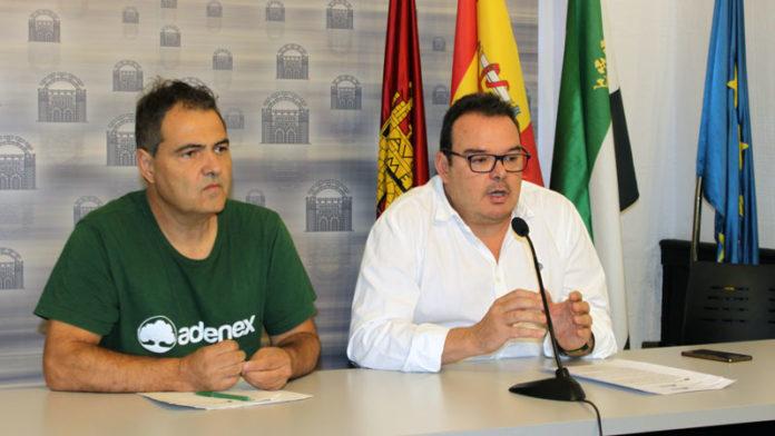 Actividades medioambientales del Ayuntamiento de Mérida y Adenex