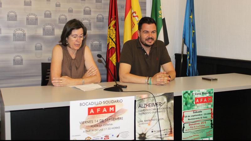 Mérida acoge diversas actividades en conmemoración del Día Mundial del Alzheimer