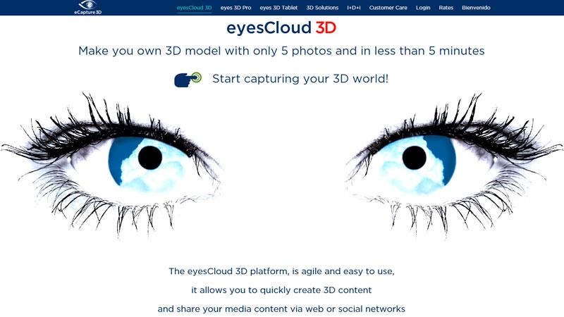 eCapture3D presenta en Los Ángeles su innovador sistema de generación online de contenidos 3D en la nube