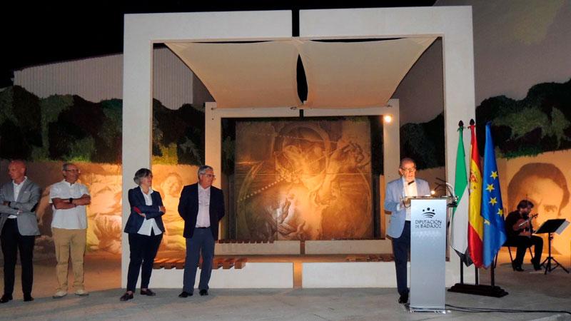 El Ayuntamiento de Monesterio dedica una plaza de la localidad al pintor Eduardo Naranjo