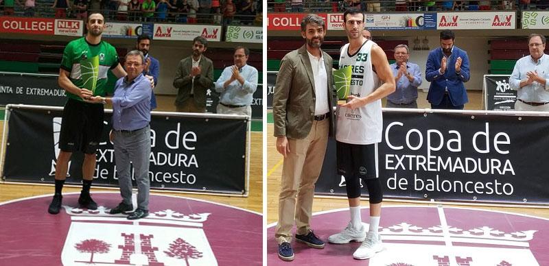 El CB Extremadura Plasencia gana la Copa de Extremadura de baloncesto al imponerse al Cáceres Patrimonio de la Humanidad