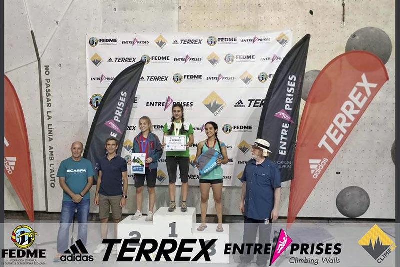 Campeonato de España de escalada deportiva