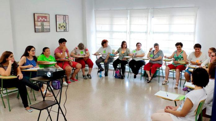 Taller de activación sociolaboral de la Fundación Cermi Mujeres en Placeat