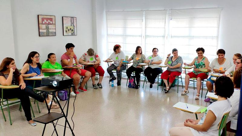 Placeat acoge un taller de activación sociolaboral de mujeres con discapacidad