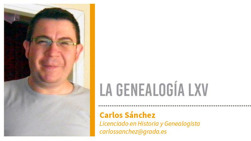 Genealogía LXV. Grada 127. Carlos Sánchez