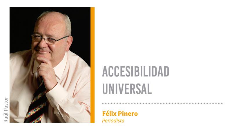 Accesibilidad universal. Grada 127. Félix Pinero