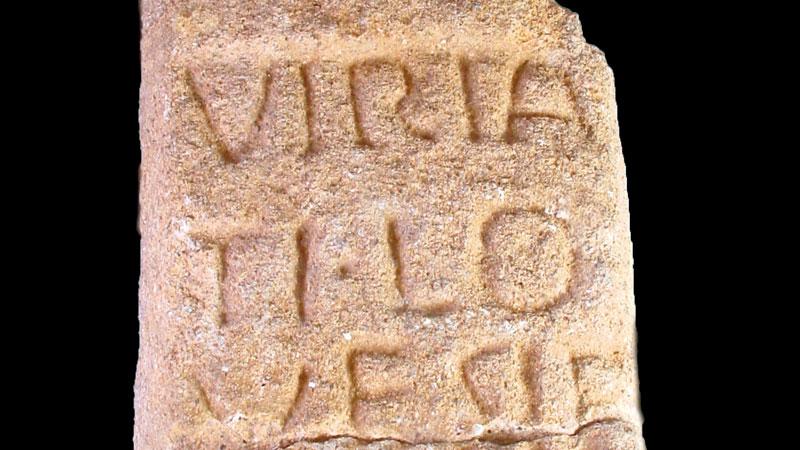 Los nombres de nuestros antepasados: Viriato. Grada 127. Arqueología