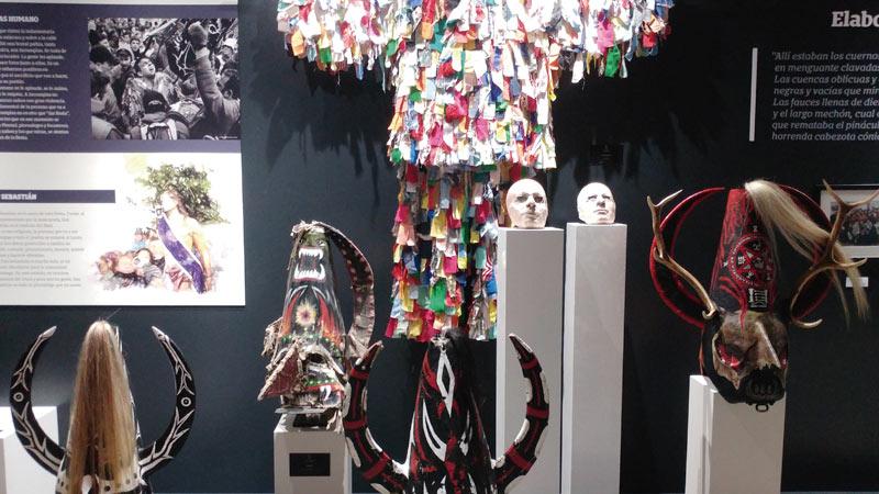 Exposición 'La doble piel' de Jorge Gil en el Museo de Jarramplas de Piornal. Grada 127. Arte