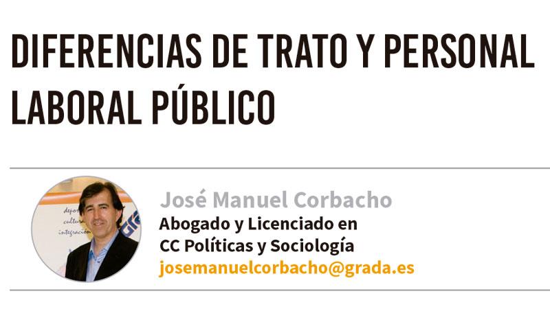 Diferencias de trato y personal laboral público. Grada 127. José Manuel Corbacho