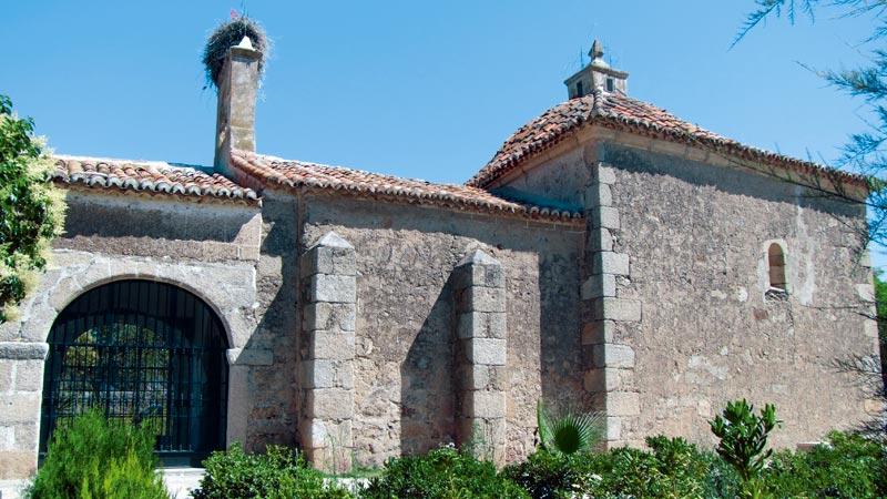 Ermita de Santa Ana de Malpartida de Cáceres. Grada 127. Historia